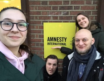Youth participation in the campaign for the abolition of the death penalty in Belarus