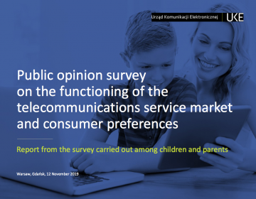 Consumer survey of children and parents 2019 in Poland