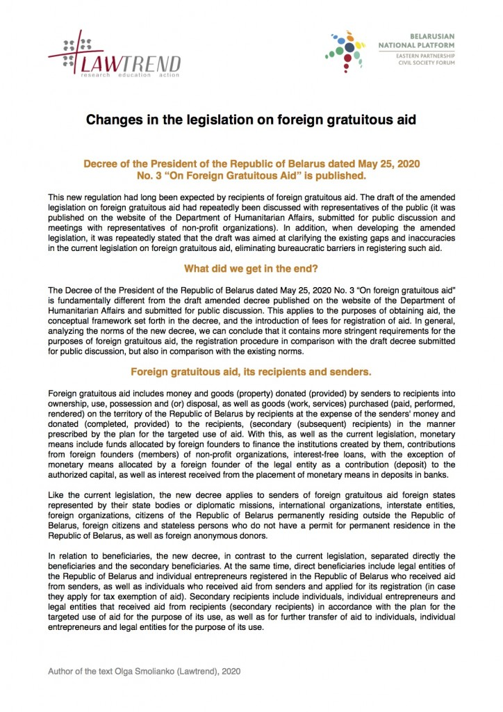 Changes-in-the-legislation-on-foreign-gratuitous-aid