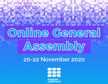 Online General Assembly of the European Youth Forum