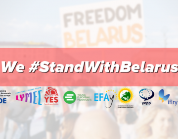Joint Statement: European political youth organisations #StandWithBelarus